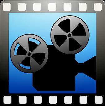 Video Camera, Cinema, Cinematography, Silhouette, Icon