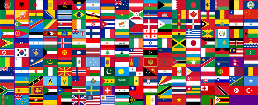 Flags, Countries, International, Planet