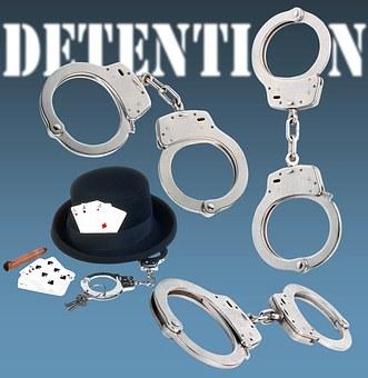 Handcuffs, Detention, Arrest, Police