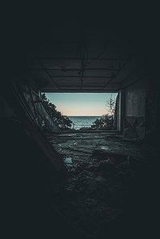 Abandoned, Explore, Ocean, Rectangle, Vacant, Dark