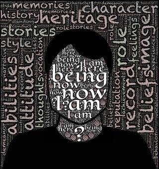 Man, Face, Identity, Self, Me, I Am, Person, Silhouette