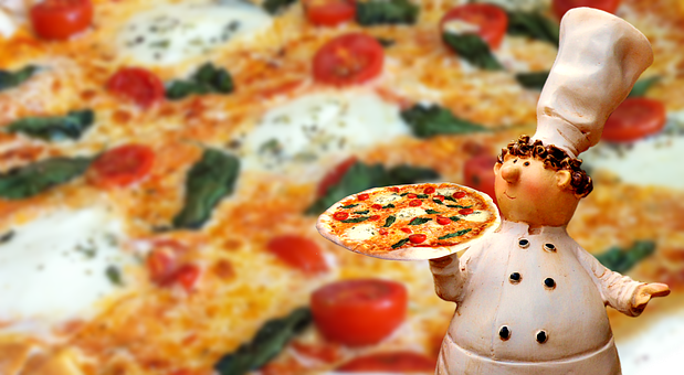 Pizza, Italian, Eat, Pizza Maker, Figure, Funny, Fun
