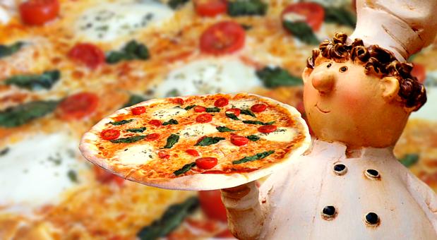 Pizza, Italian, Eat, Pizza Maker, Figure