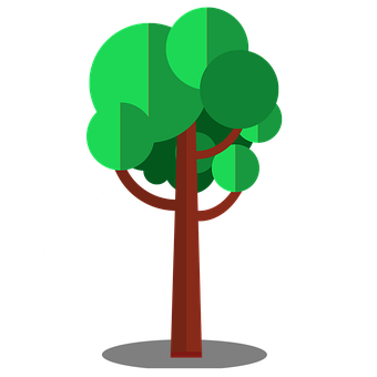 Tree, Vectors, Nature, Leaves, Forest
