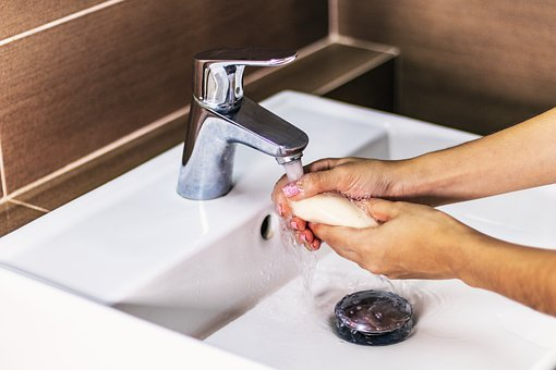 Soap, Sink, Hands, Hygiene, Bathroom, Care, Covid-19