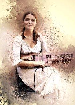 España La Bella, Street Musician, Toledo Spain