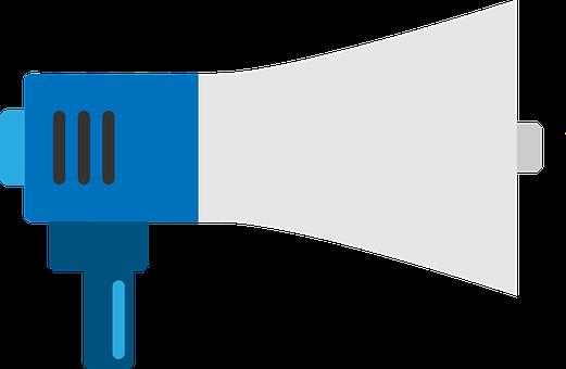 Megaphone, Feedback, Loud, Communication, Marketing