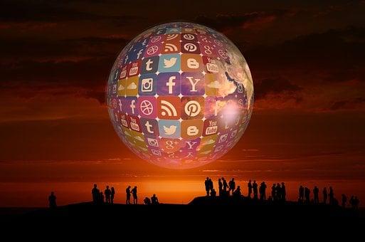 Social Media, Icon, Twitter, Facebook, Instagram