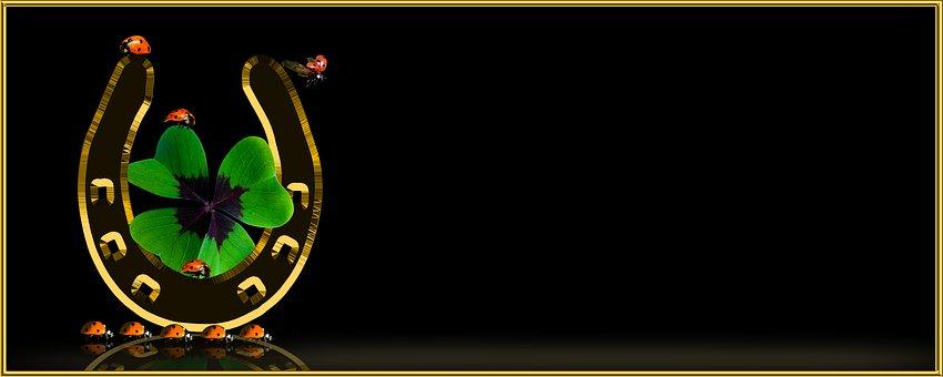 Symbol, Luck, Lucky Clover, Four Leaf Clover