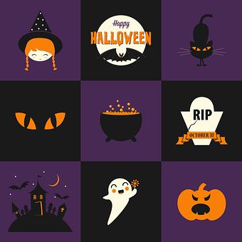 Halloween, Poison, Cat, October, Night, Magic, Moon