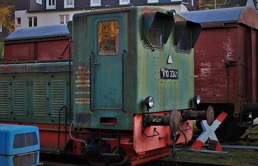 Railway, Railway Museum, Rail Traffic, Shut Down, Rust