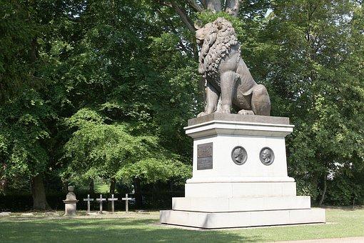 Lion, Flensburg, Idstedt, 1850, Commemorate, War