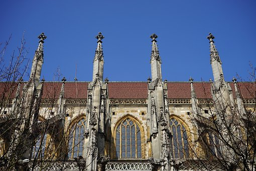 Ulm Cathedral, Aisle, Carrier, Support, Window, Turret