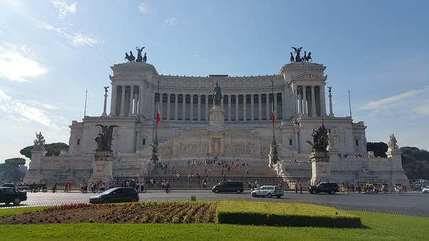 Emmanuel, Rome, Italy, Altar Of The Fatherland, Altar