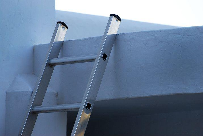 Ladder, Upload, Get, Achievement, Support, Aluminum
