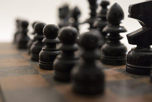 Chess, Black, Game, Board, Strategy, Competition