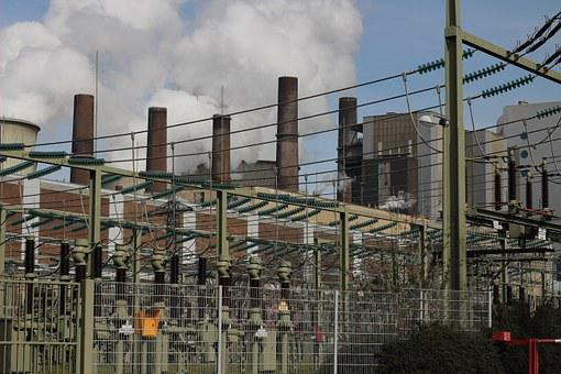 Carbon, Power Plant, Coal Fired Power Plant, Bergheim