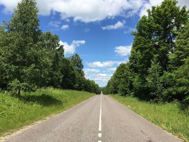 Straight, Road, Countryside, Asphalt, Way