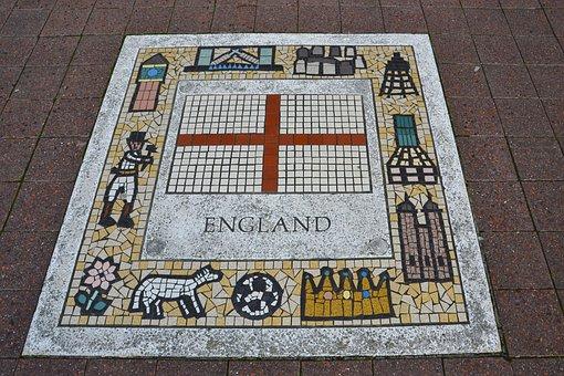 England, Rugby, Team Emblem, Flag, Emblem, Team