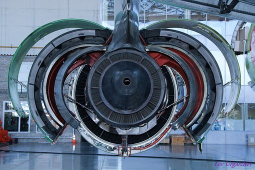Aircraft, Wing, Engine Support, Frame, Large, Close-up
