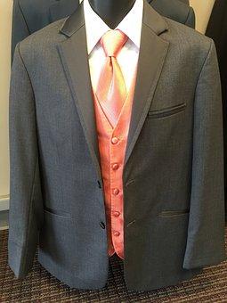 Tux, Tuxedo, Groom, Fashion, Male, Formal, Tie, White