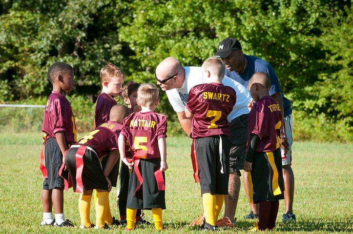 Coach, Flag Football, Football, Flag, Sport, Game
