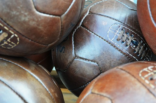 Football, Balls, Leather, Sport, Game, Equipment, Play