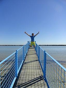 Happiness, Freedom, Joy, Enthusiasm, Victory
