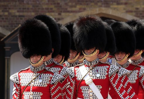 Royal Guard, Buckingham Palace, Guards, Uniform, Parade