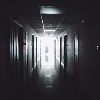 Hallway, Hospital, Medical, Work, Office, Interiors