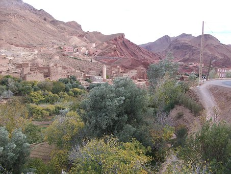 High Atlas, Morocco, Mountains, Landscape