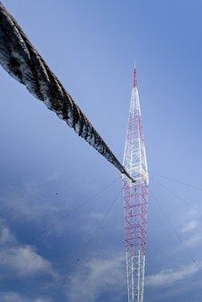 Radio, Netting, Radio Antenna, Metal, Support, Iron