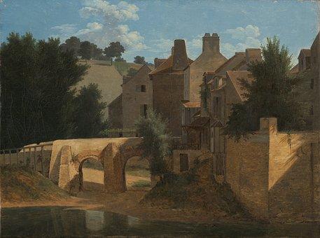 Jean-victor-bertin, Landscape, Art, Painting