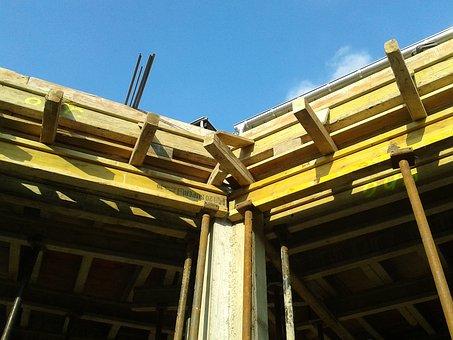 Housebuilding, Site, Shell, Formwork, Maurer, Raw Bauer