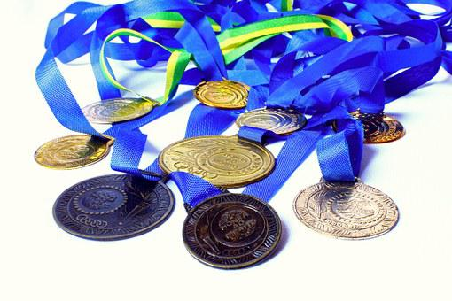 Medal, Awards, Honor, Merit, Winner, Champion