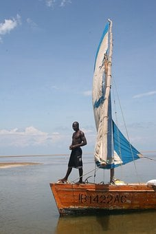 Dhow, Mozambique, Boat, Ship, Tradition, Sea, Sailing