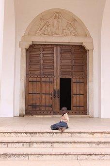 Nampula, Cathedral, Mozambique, Doorway, Entrance