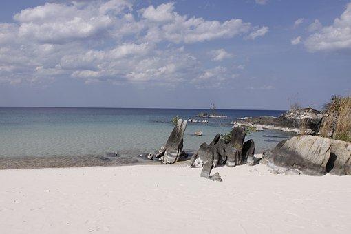 Niassa, Lake, Mozambique, Ocean, Sea, Beach, Seascape