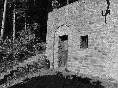 Heimbach, North Eifel, Residence, Stone Stairway