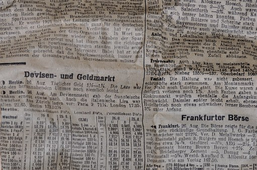 Newspaper, Daily Newspaper, Newsprint, Paper, Pressure