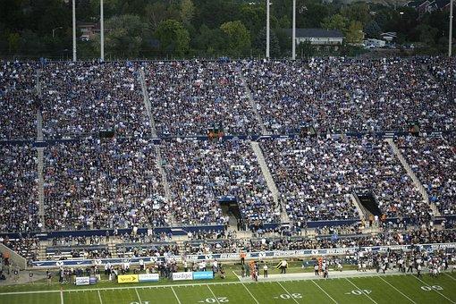 Football, Team, People, Game, Crowd, Sport, American