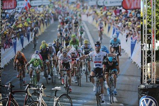 Bike Race, Winner, Race, Event, Bike, Cyclist