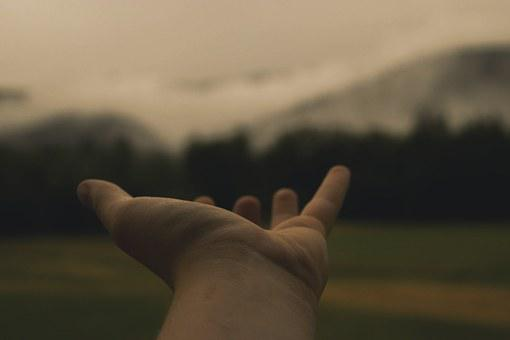 Hand, Hold, Reach, Place, Outstretched Arms, Love