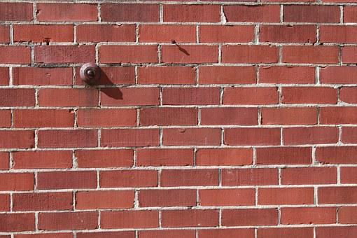 Red Brick, Brickwall, Wall, Buzzer, Construction