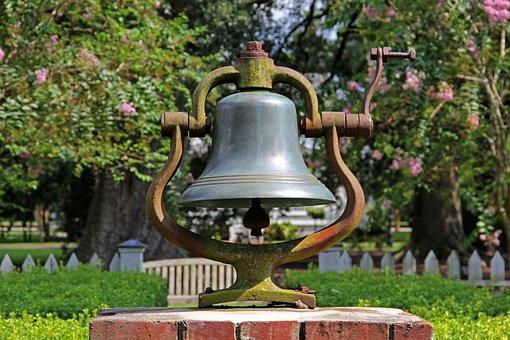 Bell, Ring, Garden, Alarm, Alert, Reminder, Design