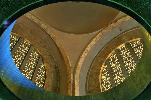 Dome, Arches, Monument, Interior, Voortrekker, Roof