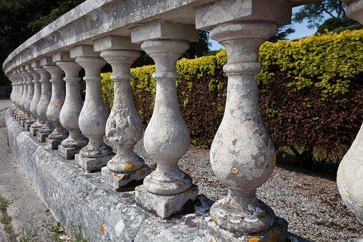 Balustrade, Columnar, Natural Stone Balustrade, Series