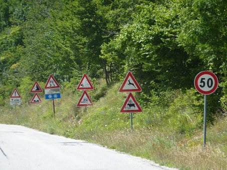 Traffic, Sign, Road, Warning, Information
