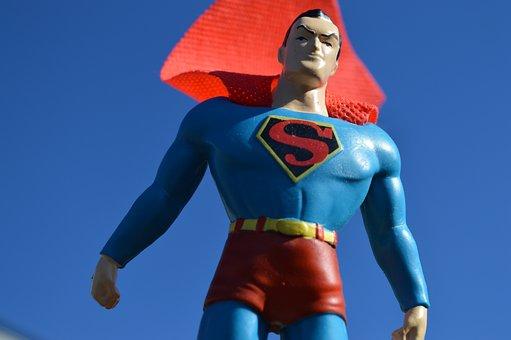 Superman, Superhero, Cape, Sky, Costume, Hero, Super