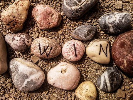 Summer, Stones, Win, Up Close, Sand, Small Stones